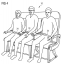New Airbus patent shows adjustable benches for passengers of all sizes