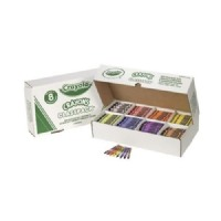 Crayola[r] Crayola Regular Crayons Classpack - 8 Colors Set of 800
