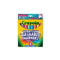Crayola[r] Crayola Tropical Colors Washable Markers - Set of 8