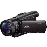 "Sony Black 4K Camcorder With 1 "" Sensor - FDRAX100/B"
