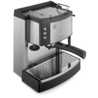 DeLonghi Stainless Steel Manual Espresso Machine Ec702