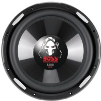 "BOSS AUDIO P126DVC Phantom Series Dual Voice-Coil Subwoofer (12"")"