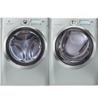 AEG Silver Sands Front Load Washer - EWFLS70JSS
