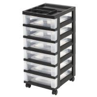 Iris Storage Cart: Iris Storage Cart - Black