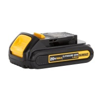 DeWalt Cordless Power Tool Chargers 20-Volt 1.5 Ah Max Lithium-Ion Compact Battery Pack DCB201