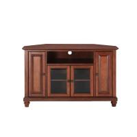Crosley Furniture Cambridge Corner TV Stand (Cherry)