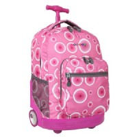 J-World J World Sunrise Rolling Backpack- Pink Target
