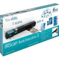 Iris Black IRIScan Book Executive 3 Wireless Portable Scanner - 457889