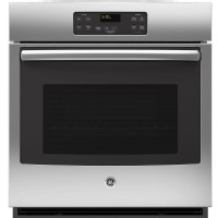 "GE JK1000DFBB 27"" Single Electric Wall Oven - Black"