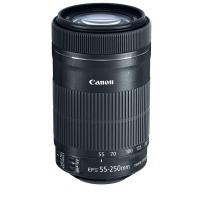 Canon EF-S55-250mm F4-5.6 IS STM Lens for Canon Dslr Camera - Black (8546B002)