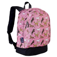 WildKin Horses In Pink Backpack