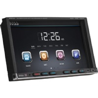 """Boss Car DVD Player - 7"""" Touchscreen LCD - Double DIN"""
