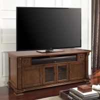 Bell'O PR36 Home Entertainment Wood Cabinet in Mocha Finish