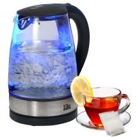 Elite 1.7L Cordless Electric Glass Kettle