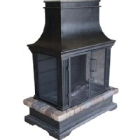 Black & Decker Outdoor Fireplace: Bond Sevilla Gas Burning Fireplace