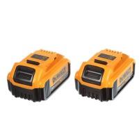 DeWalt 20V MAX XR 4 Ah Lithium-Ion Battery 2-Pack DCB204-2