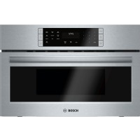 """Bosch 800 Series 30 """" Stainless Steel Convection Speed Built-In Microwave Oven - HMC80151UC"""