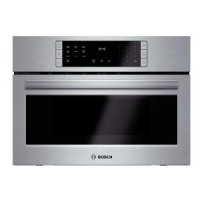 """Bosch 800 Series 27 """" Stainless Steel Convection Speed Built-In Microwave Oven - HMC87151UC"""
