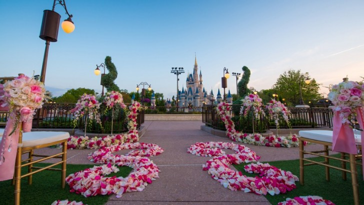 Cinderella's Castle at Disney World now available for fairytale weddings