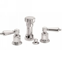 California Faucets 6804-PC San Clemente Polished Chrome Bidet Set