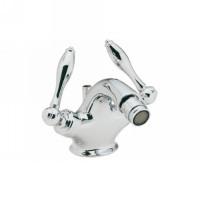 California Faucets 6404-MONO-SG Mendocino Satin Gold Bronze (24K) Monoblock Bidet Set