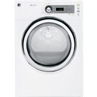 GE Appliances GE GFDS140EDWW 7.0 cu.ft. Steam Electric Dryer - White
