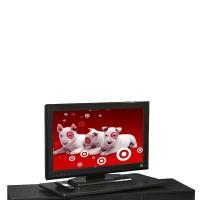 Convenience Concepts Tv Stand: Convenience Concepts Single Tier Swivel - Black (XL)
