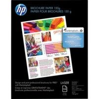 HP 8-1/2 x 11 Color Laser Brochure Paper