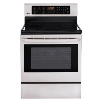 LG Stainless Steel Freestanding Electric Convection Oven - LRE3083ST