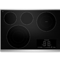 "KitchenAid 30 "" Stainless Electric Cooktop - KECC607BSS"