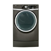 GE 8.3-Cu Ft Gas Dryer With Steam Cycles (Metallic Carbon) Gfdr485gfmc