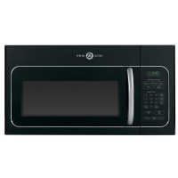GE Artistry 1.6-Cu Ft Over-The-Range Microwave (Black) (Common: 30-In;