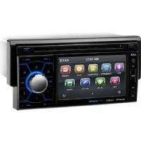 "Boss Car DVD Player - 4.6"" Touchscreen LCD - Single DIN - Multi"