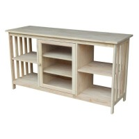 International Concepts Tv Stand: International Concepts Mission Entertainment Stand