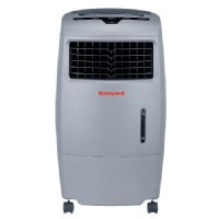 Honeywell CO25AE 52 Pt. Indoor/Outdoor Portable Evaporative Air Cooler with Remote Control - Grey