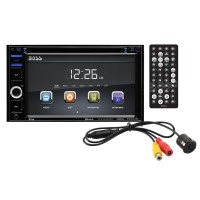 "Boss Audio Systems BOSS AUDIO BVB9364RC Double-DIN DVD Player 6.2"" Touchscreen Monitor Bluetooth"
