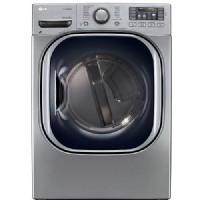 LG DLEX4270V 7.4 cu ft. Ultra Large Capacity SteamDryer w/ NFC Tag-On Technology Graphite Steel