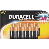 Duracell CopperTop Alkaline Batteries w/ Duralock Power Preserve Technology