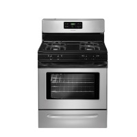 Frigidaire Ranges 30 in. 5.0 cu. ft. Gas Range with Self-Cleaning Oven in Silver Mist