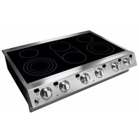 "AEG E36EC75HSS 36"" Electric Slide-In Cooktop - Stainless Steel"