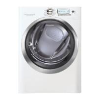 AEG Island White Electric Steam Dryer - EWMED70JIW