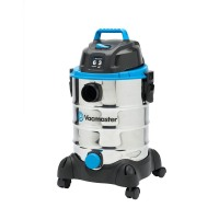 Vacmaster Vacuums 6-gal. Stainless Steel Wet/Dry Vac with Blower Function Blues VQ607SFD