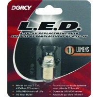 Dorcy Lightbulbs 40 Lumen 4.5 to 6-Volt LED Replacement Bulb 41-1644