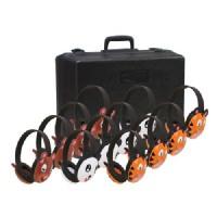 Califone Pack of 12 Animal Preschool Headphones w/ Mobile-Ready Plugs