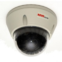 Revo Security Cams Elite 700 TVL Indoor/Outdoor Vandal Proof Dome Surveillance Camera REVDN700-2