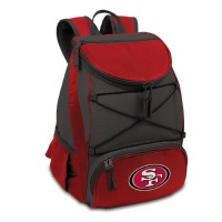 Picnic Time PTX Cooler - NFL San Francisco 49ers - Red