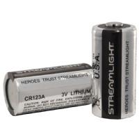 Streamlight Batteries CR123 Lithium 3-Volt Battery (12-Pack) 85177