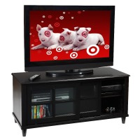Convenience Concepts Tv Stand: Convenience Concepts French County TV Stand - Black