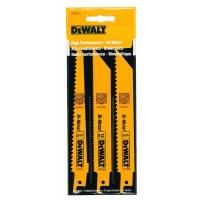 DeWalt Reciprocating Saw Blades: DEWALT Saw Blades 3-Pieces Woodcutting Reciprocating Saw Blade Set DW4853