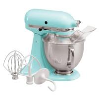 KitchenAid Artisan 5 Qt Stand Mixer- Ice Blue KSM150